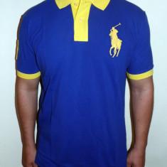 Tricouri POLO RALPH LAUREN - Albastru / Bleumarin - Noua Colectie !!! - Tricou barbati, Marime: S, L, XL, Maneca scurta, Bumbac