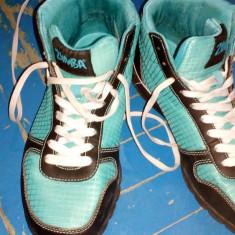 Papuci sport Zumba - Adidasi dama, Culoare: Bleu, Marime: 38 2/3