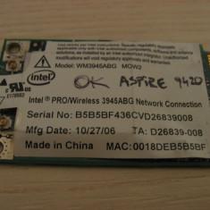 Placa de retea wireless laptop Acer Aspire 9420, Intel WM3945ABG MOW2