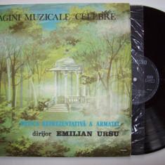 Disc vinil PAGINI MUZICALE - Muzica reprezantativa a armatei (ST - EXE 03415) - Muzica Clasica electrecord