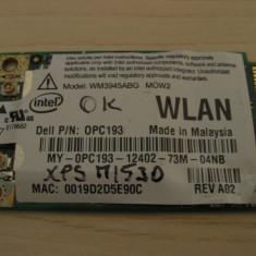 Placa de retea wireless laptop Dell XPS M1530, Intel WM3945ABG MOW2, 0PC193