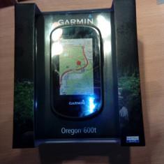 Navigator handheld Garmin Oregon 600t Negru, 3 inch, Toata Europa, Lifetime