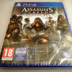 Assassin's Creed Syndicate, PS4, original si sigilat, alte sute de jocuri! - Jocuri PS4, Role playing, 18+, Single player