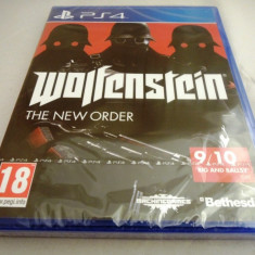 Wolfenstein the New Order, PS4, original si sigilat, alte sute de jocuri! - Jocuri PS4, Shooting, 18+, Single player