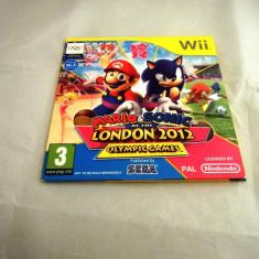 Mario & Sonic at the London 2012 Olympic Games, Wii, alte sute de jocuri! - Jocuri WII Ubisoft, Actiune, 3+, Multiplayer