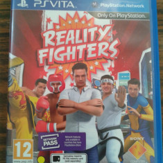 Vand jocuri ps vita, playstation vita, REALTY FIGHTERS, Board games, 12+, Single player
