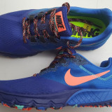 Nike - Adidasi dama Nike, Culoare: Albastru, Marime: 38