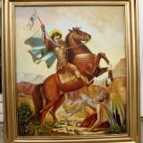Icoana ulei pe panza. Sf Dumitru - Pictor roman, Religie, Altul