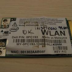 Placa de retea wireless laptop Dell Inspiron 9400, Intel WM3945ABG MOW2, 0PC193