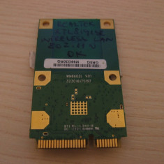 Placa de retea wireless Toshiba Satellite Pro L555 RTL8191SE, PA3758U-1MPC