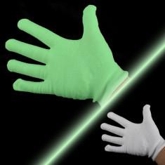 Manusi fosforescente Glow in the Dark - Manusi Dama