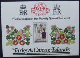 TURKS & CAICOS ISLAND - REGALITATE, 1 S/S NEOBLITERATA - E5567