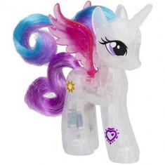 Figurina My Little Pony Equestria Girls - Printesa Celestia Lumineaza - Figurina Povesti Hasbro