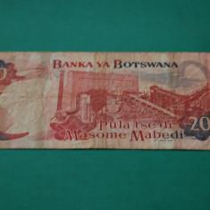 20 pula 2002 Botswana P-25a - bancnota africa