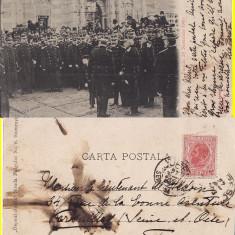 Casa regala-Regele Carol , Principele Carol- Parada 1900 - clasica,edit. Socecu