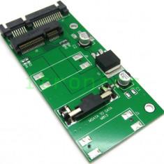 Adaptor SSD mSATA la SATA 2.5 inch - Adaptor PCMCIA