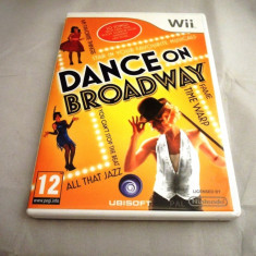 Dance on Broadway, pentru Wii, original, PAL, alte sute de jocuri! - Jocuri WII Ubisoft, Simulatoare, 3+, Single player