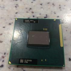 Procesor laptop Intel Core i3-2330M PPGA988 (3M Cache, 2.2GHz) SR04J socket G2, Intel 2nd gen Core i3, 2000-2500 Mhz, Numar nuclee: 2