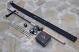 Lanseta Telescopica Aqua Feeder FL 4,5 Metri + Mulineta FA1000 11 Rulmenti Eco