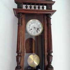 Ceas de perete cu pendula Japy Freres 1893