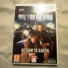 Doctor Who Return To Earth, pentru Wii, original, PAL, alte sute de jocuri - Jocuri WII Altele, Simulatoare, 3+, Single player