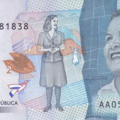Bancnota Columbia 2.000 Pesos 2015 (2016) - PNew UNC
