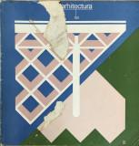 REVISTA ARHITECTURA NR 1 AN 1981