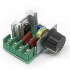 Variator tensiune / Regulator de tensiune SCR AC 90-250V 2000W 25A.