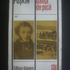 ALEXANDR PUSKIN - DAMA DE PICA SI ALTE POVESTIRI - Roman