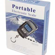 Cantar electronic portabil de bagaje 50kg WH-A08 - Cantar bagaje
