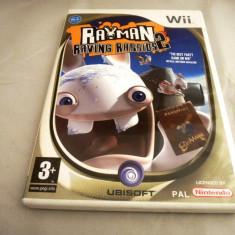 Rayman Raving Rabbids 2, Wii, original, alte sute de jocuri! - Jocuri WII Ubisoft, Actiune, 3+, Multiplayer
