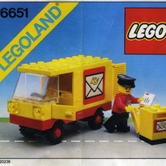LEGO 6651 Mail Truck