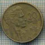 10699 MONEDA- YUGOSLAVIA - 20 DINARA -anul 1955 -STAREA CARE SE VEDE