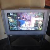 Televizor CRT / TV Samsung WS32M206P 100 Hz cu tub plat 81 cm wide + stand