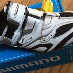 Pantofi ciclism MTB Shimano SH-XC50 (clipless - SPD) noi, măr. 41-42 - Echipament Ciclism Altele