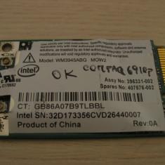 Placa de retea wireless laptop HP Compaq 6910p, Intel WM3945ABG MOW2