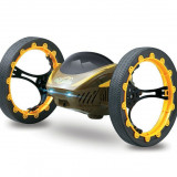 Drona iUni Bounce Car 222, Jumping Sumo, 4 Canale, 2.4 Ghz, Galben