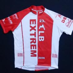 Tricou ciclism DEE Hotline Sports Wear 23 ALB EXTREM; XL, vezi dim.; ca nou - Echipament Ciclism