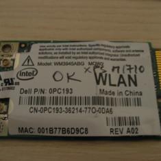 Placa de retea wireless laptop Dell XPS M1710, Intel WM3945ABG MOW2, 0PC193