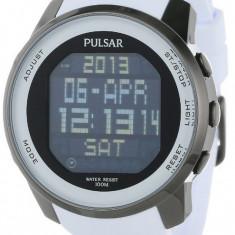 Pulsar PQ2015 ceas barbati 100% original. Garantie. Livrare rapida. - Ceas barbatesc Pulsar, Casual, Quartz, Inox, Cauciuc, Cronograf