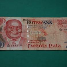 20 pula 2004 Botswana P-27a - bancnota africa