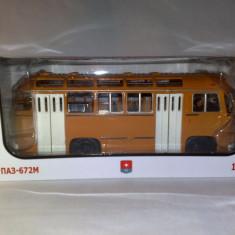 Macheta autobuz PAZ 672M-  Rusia 1:43