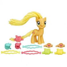 Figurina My Little Pony Coafuri de Gala - Applejack - Figurina Povesti Hasbro
