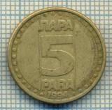 10710 MONEDA- YUGOSLAVIA - 5 PARA -anul 1994 -STAREA CARE SE VEDE