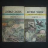GEORGE COSBUC - POEZII 2 volume - Carte poezie