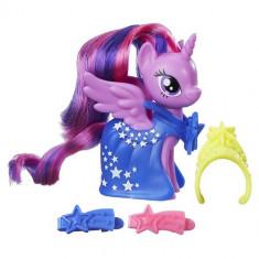 Figurina My Little Pony cu Accesorii de Gala Twilight Sparkle - Figurina Povesti Hasbro