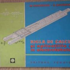Rigla De Calcul Si Aplicatiile Ei In Electrotehnica (coperta - M. Gheorghiu N. Stefanescu, 395344 - Carti Electrotehnica