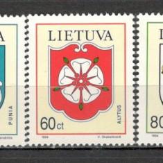 Lituania.1994 Steme ale oraselor KX.309 - Timbre straine, Nestampilat