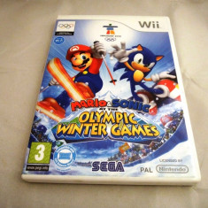Mario & Sonic at the Olympic Winter Games 2010, Wii, alte sute de jocuri! - Jocuri WII Ubisoft, Actiune, 3+, Multiplayer