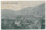 3786 - ( 13001 ) - Hunedoara, GURA BARZA, factory - old postcard - used - 1909, Circulata, Printata